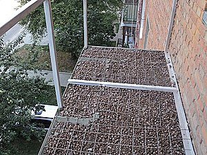 Проведение усиления плиты на балконе