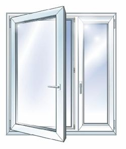 Окно из металлопласта