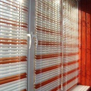 Жалюзи на лоджии из алюминия – комфорт и практичность